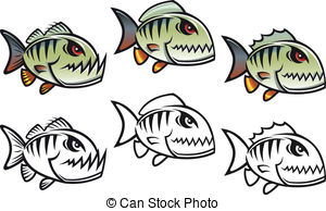 Piranha clipart #10, Download drawings