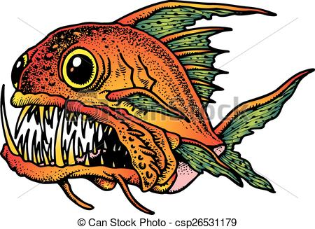 Piranha clipart #5, Download drawings