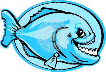 Piranha clipart #3, Download drawings