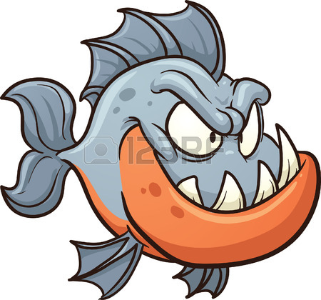 Piranha clipart #16, Download drawings