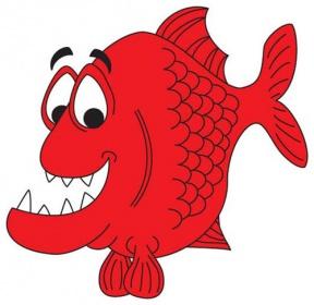Piranha clipart #2, Download drawings