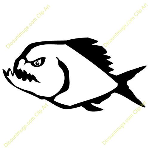 Piranha clipart #15, Download drawings