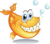 Piranha clipart #18, Download drawings