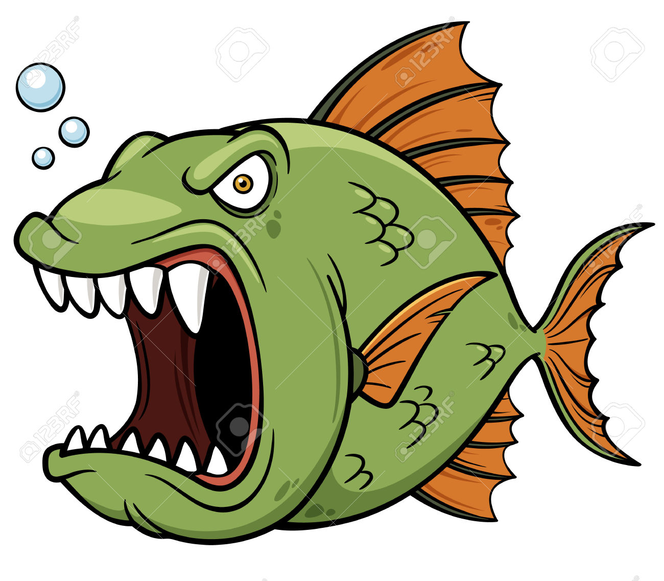 Piranha clipart #12, Download drawings