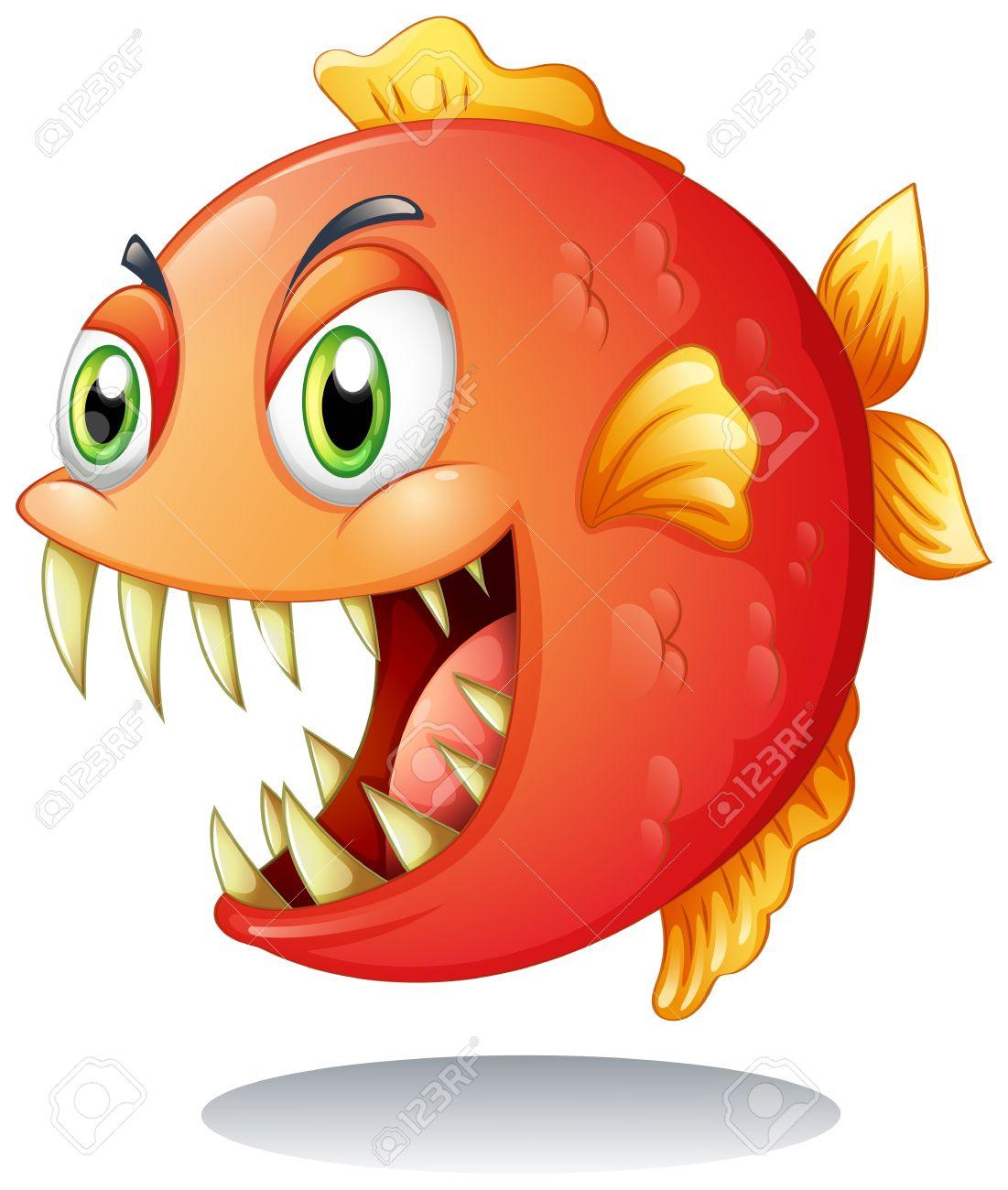 Piranha clipart #13, Download drawings