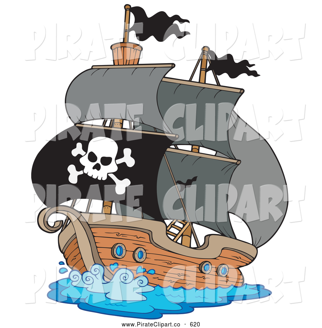 Pirate Ship clipart #1, Download drawings