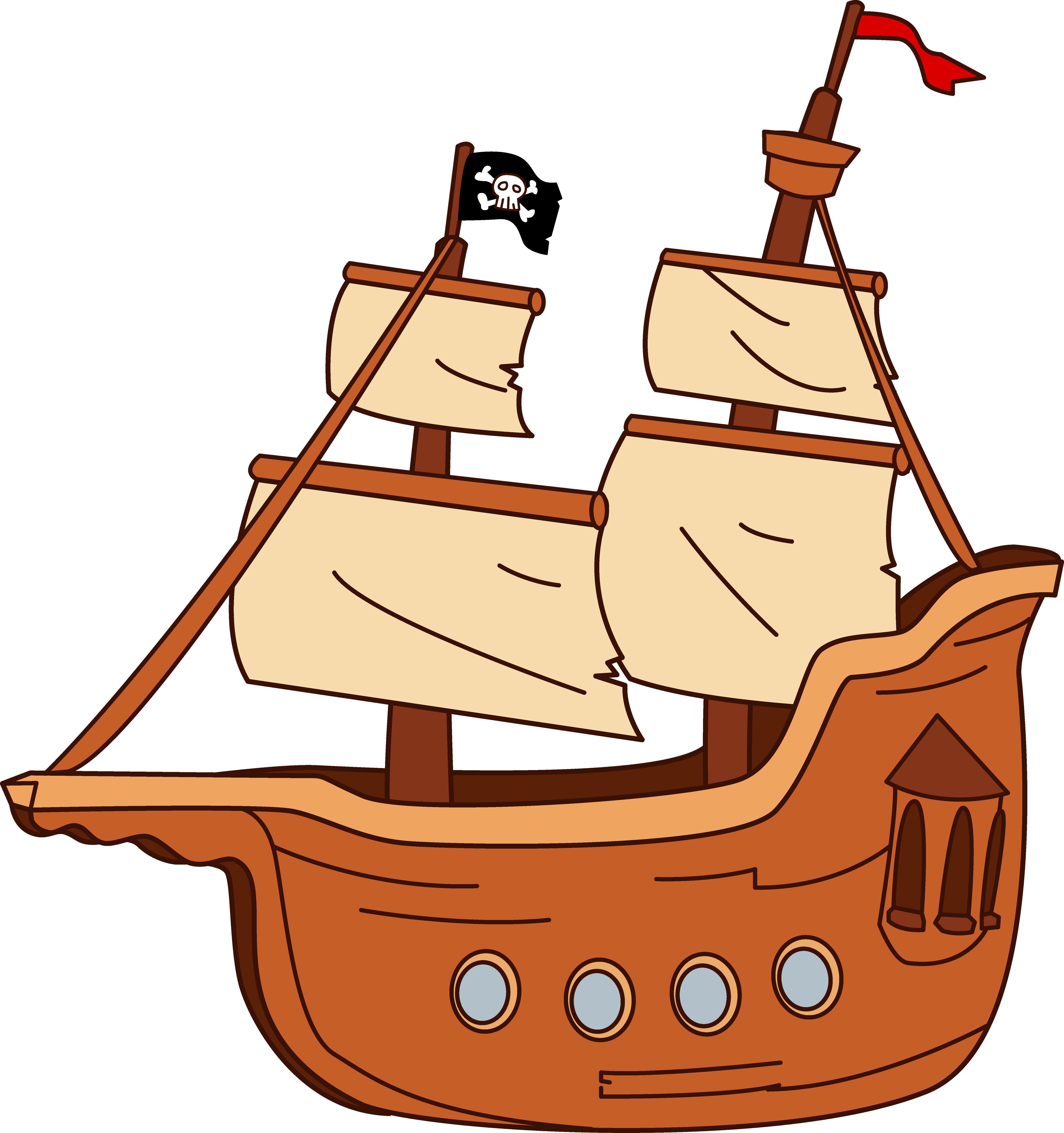 Pirate Ship clipart #3, Download drawings
