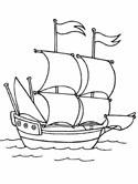 Pirate Ship coloring #10, Download drawings