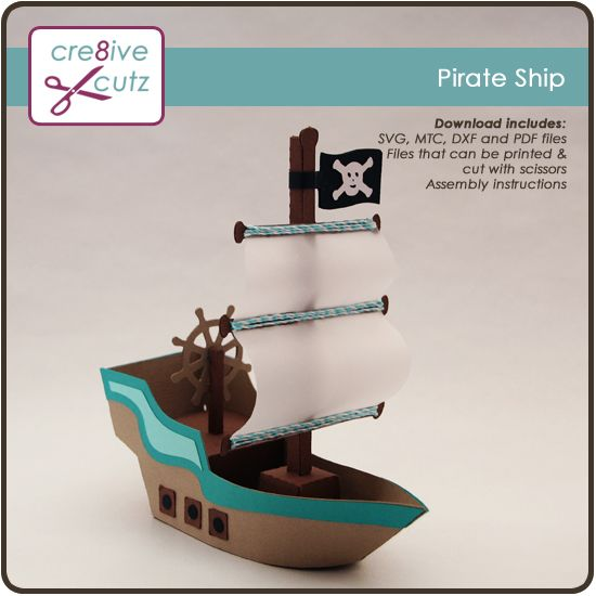 Pirate Ship svg #7, Download drawings
