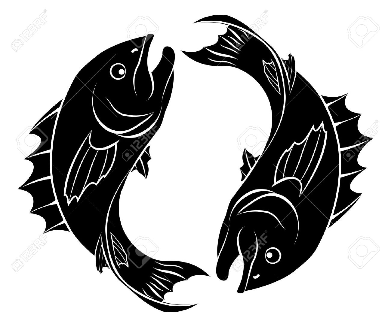 Pisces clipart #18, Download drawings