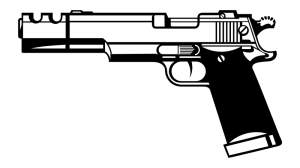 Pistol clipart #12, Download drawings