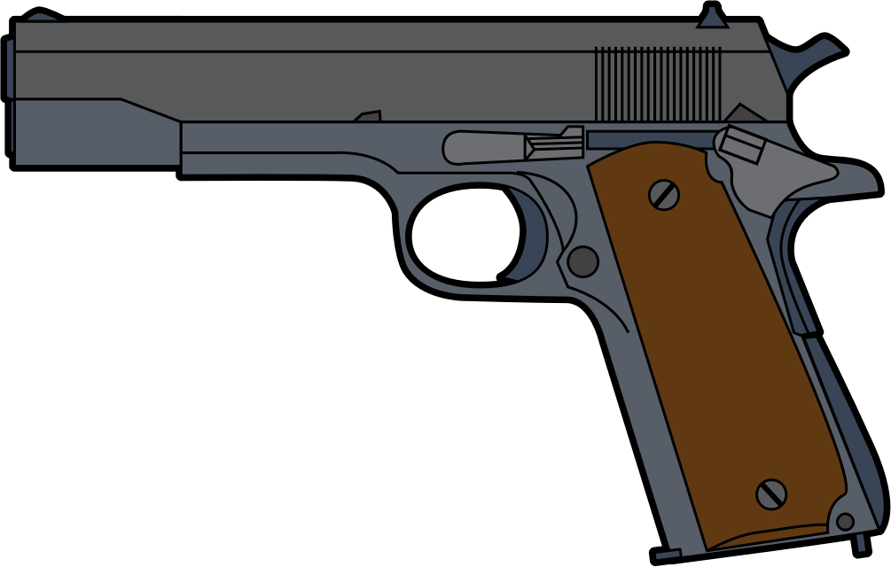 Pistol clipart #19, Download drawings