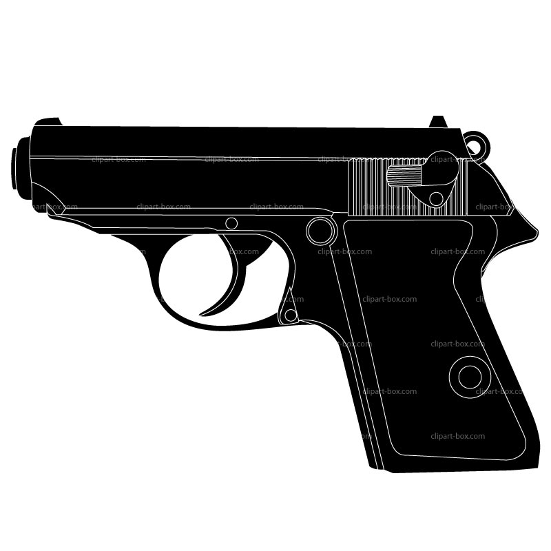 Pistol clipart #1, Download drawings