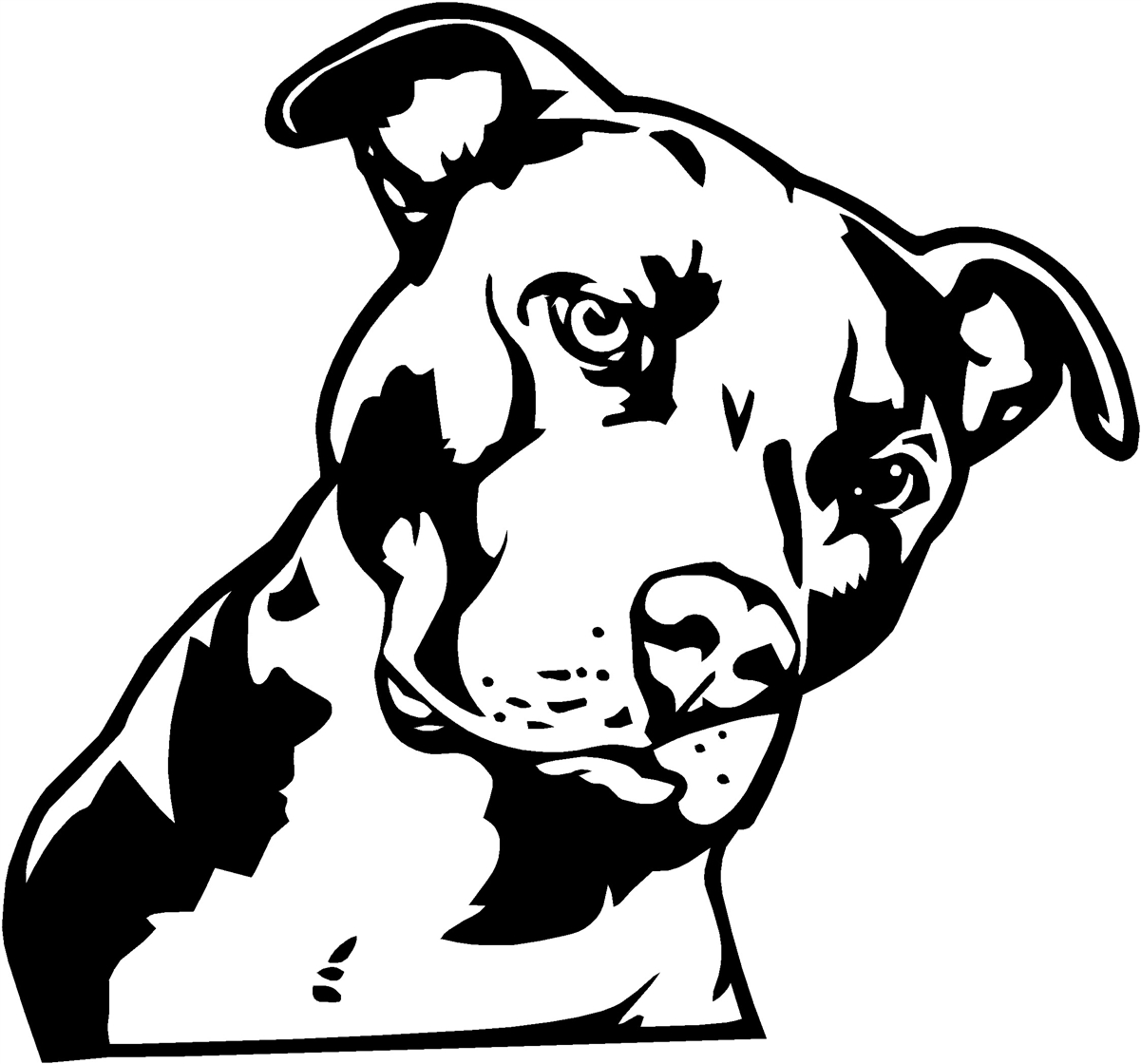 Pitbull clipart #20, Download drawings