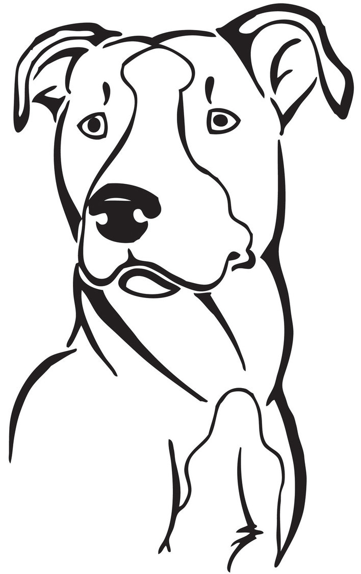 Pit Bull clipart #1, Download drawings