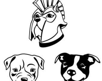 Pitbull svg #3, Download drawings
