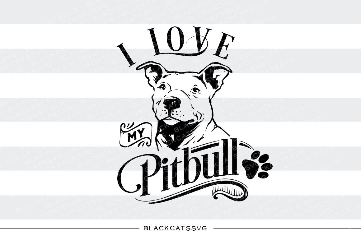 Pitbull svg #2, Download drawings