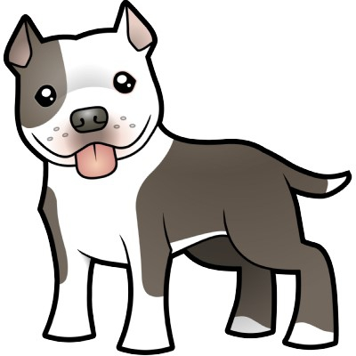 Pitbull clipart #3, Download drawings
