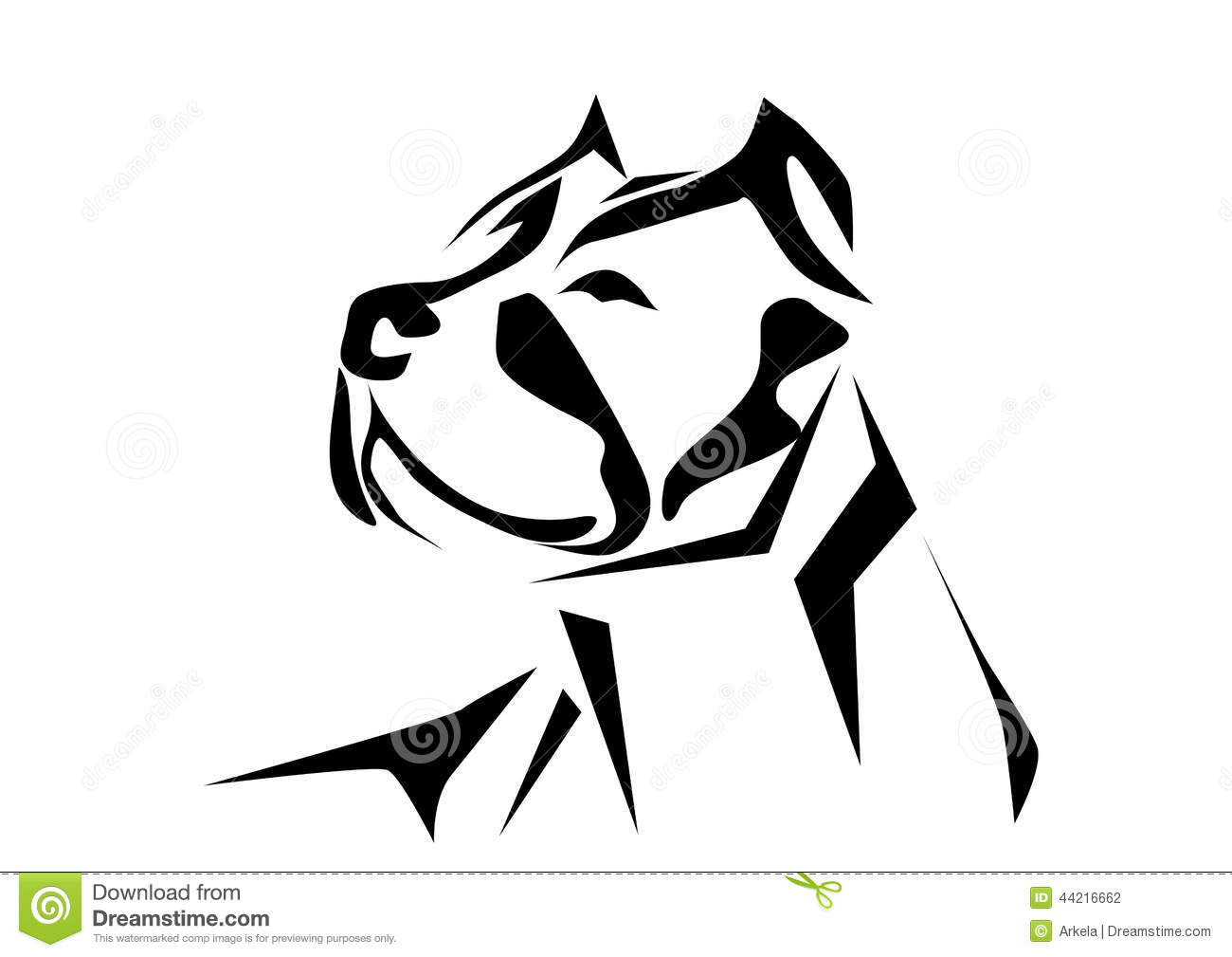 Pitbull clipart #8, Download drawings