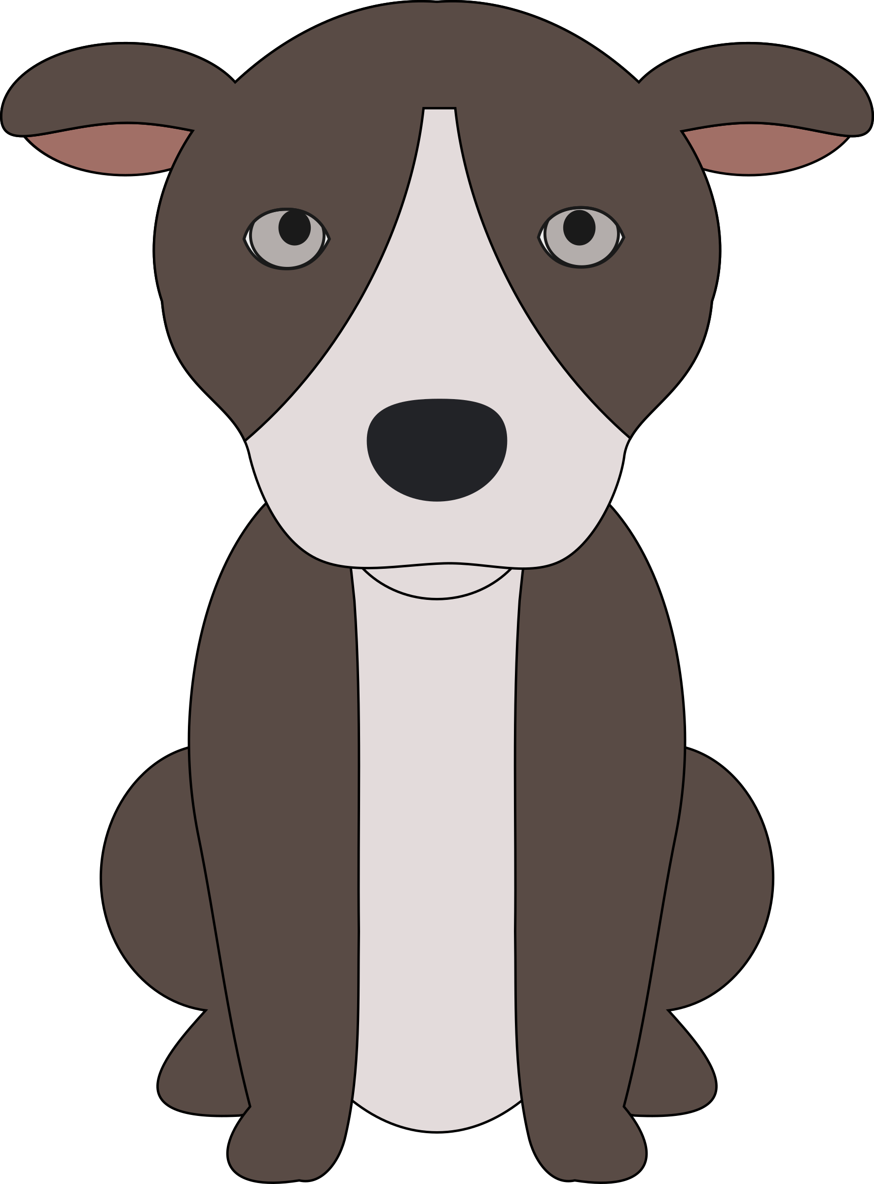 Pitbull Puppy clipart #1, Download drawings