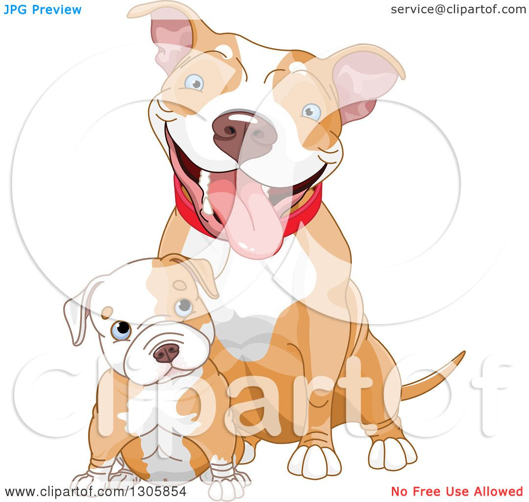 Pitbull Puppy clipart #2, Download drawings