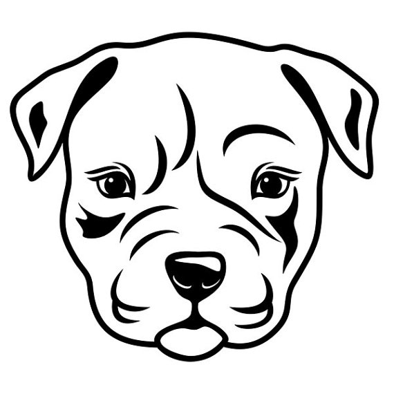Pitbull Puppy svg #10, Download drawings
