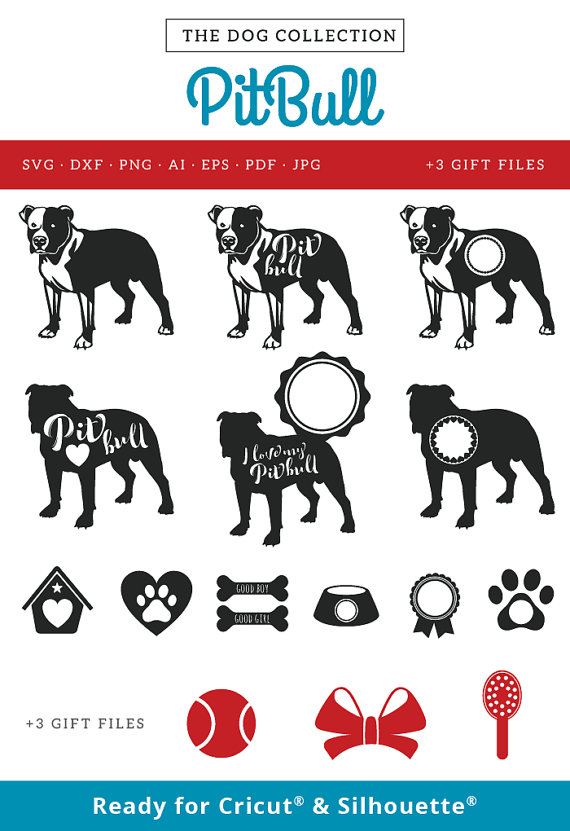 Pitbull svg #6, Download drawings