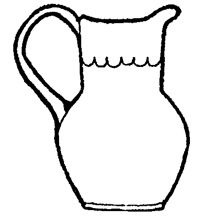 Pitcher clipart #3, Download drawings