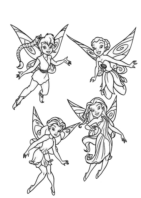 Pixie coloring #5, Download drawings