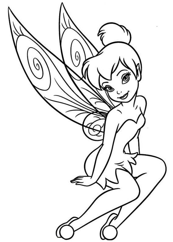 Pixie coloring #18, Download drawings
