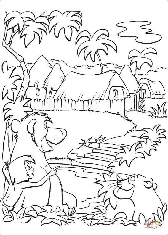 Place coloring #2, Download drawings