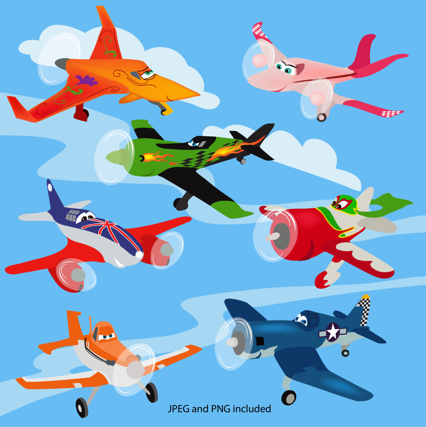 Planes clipart #17, Download drawings