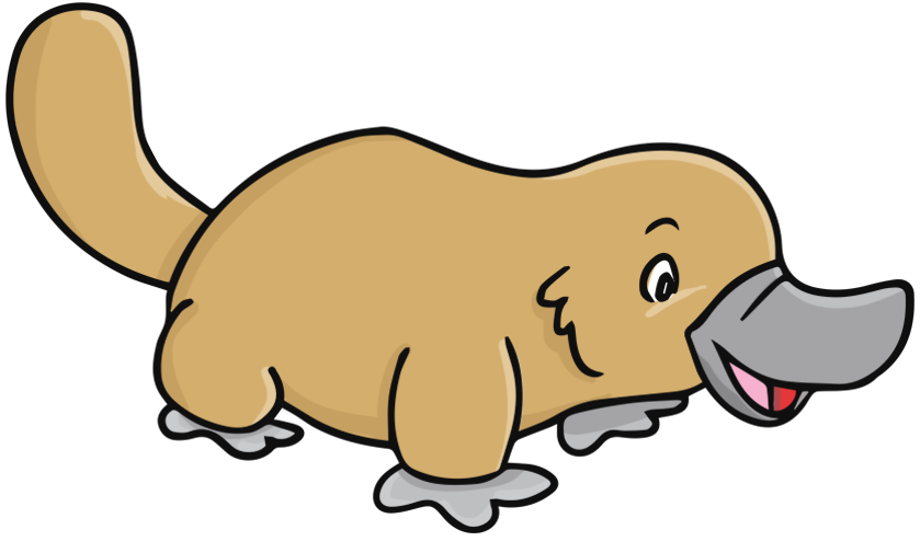 Platypus clipart #16, Download drawings
