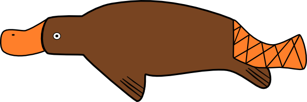 Platypus clipart #11, Download drawings