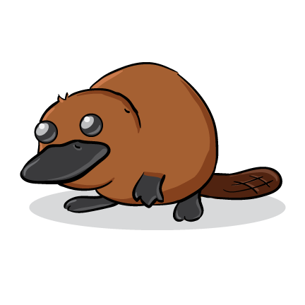 Platypus clipart #14, Download drawings