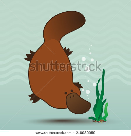 Platypus svg #2, Download drawings