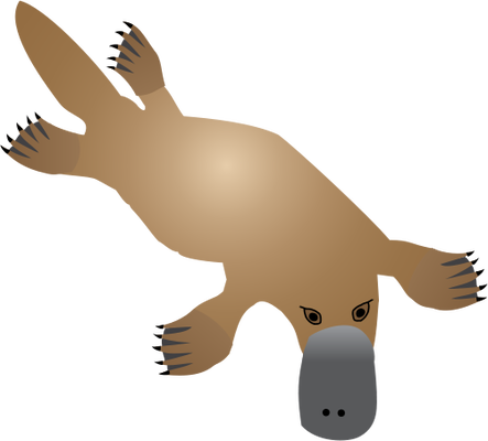 Platypus svg #6, Download drawings
