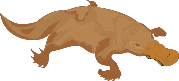 Platypus svg #18, Download drawings