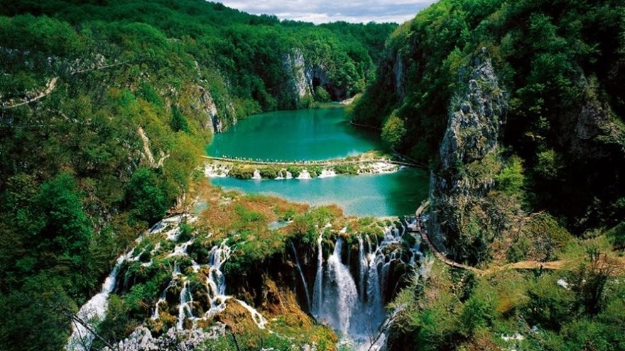 Plitvice coloring #9, Download drawings