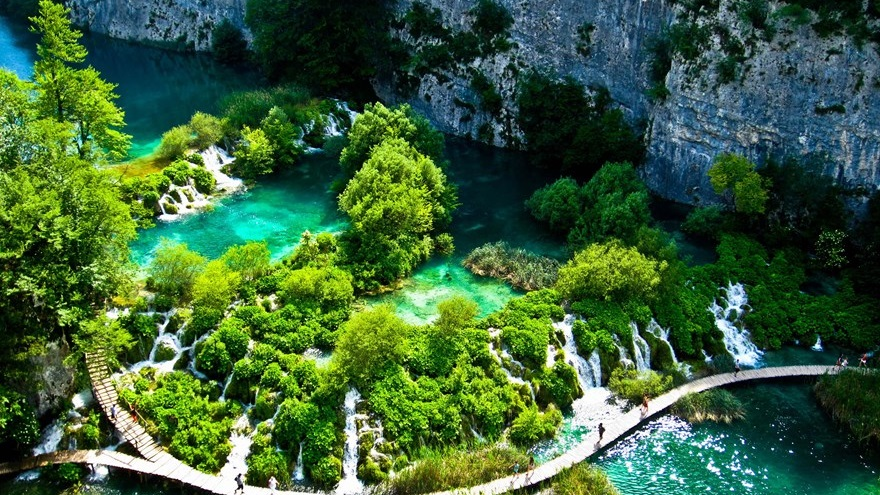 Plitvice coloring #8, Download drawings
