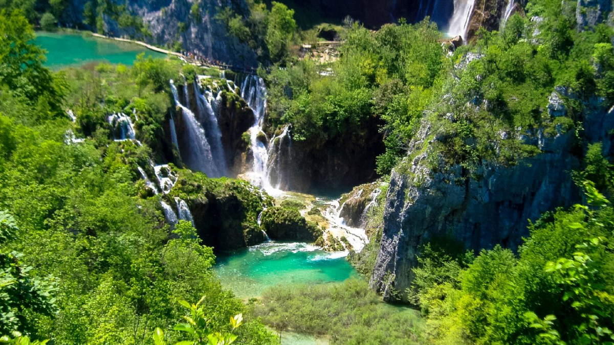 Plitvice coloring #4, Download drawings