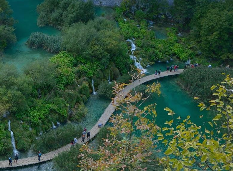 Plitvice coloring #2, Download drawings