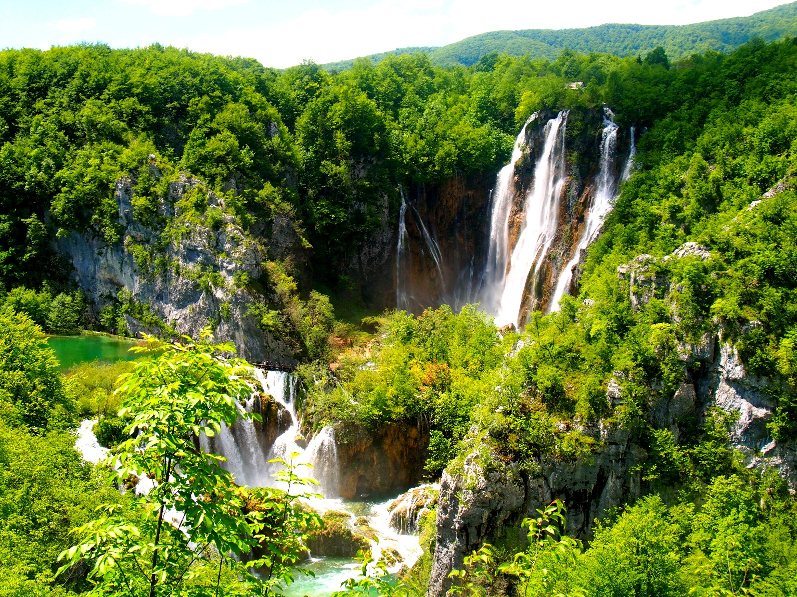 Plitvice Lakes National Park clipart #1, Download drawings