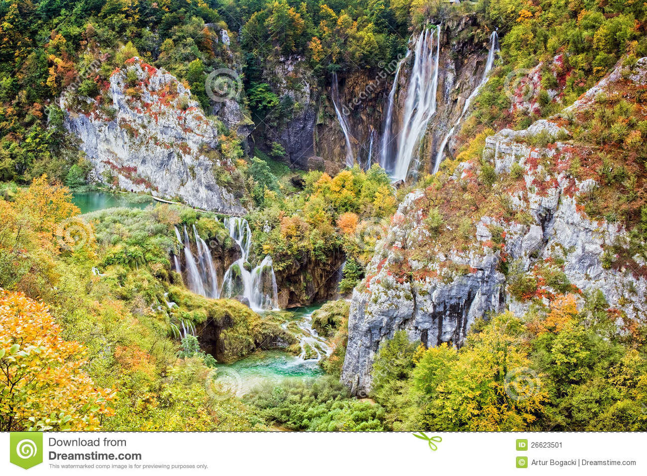 Plitvice Lakes National Park clipart #6, Download drawings