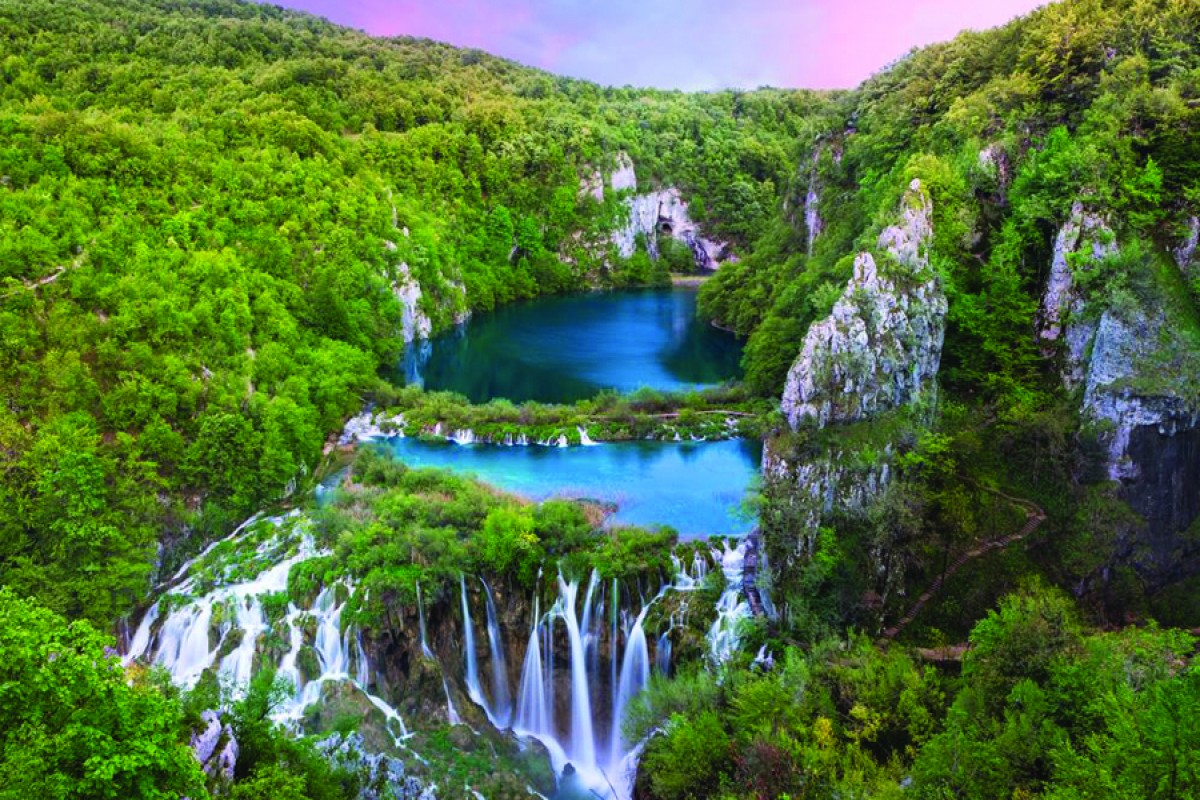 Plitvice coloring #12, Download drawings