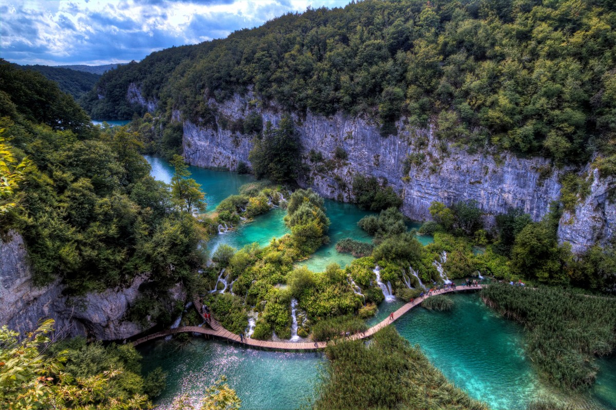 Plitvice coloring #5, Download drawings