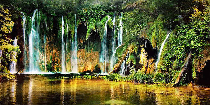 Plitvice coloring #3, Download drawings
