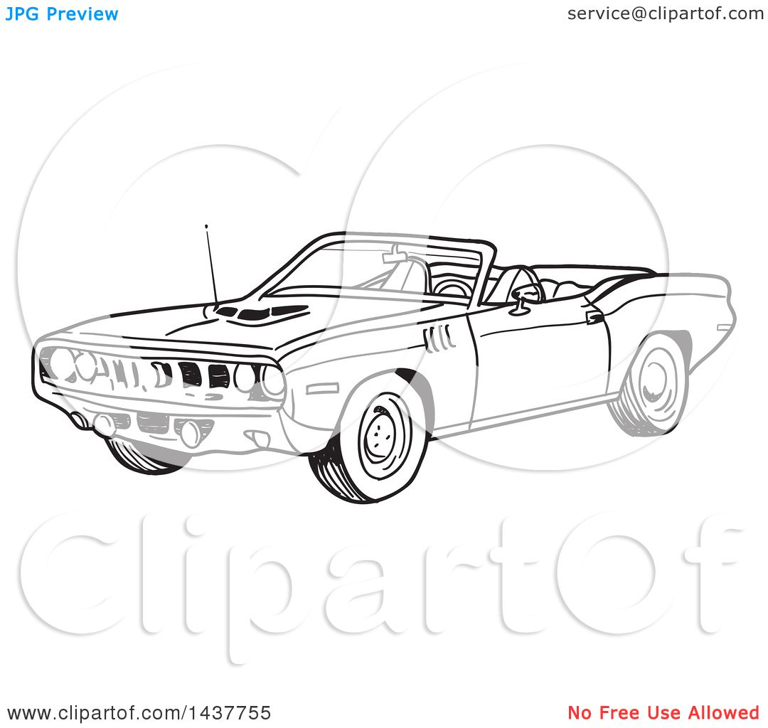 Plymouth Barracuda Coloring Download Plymouth Barracuda