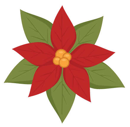 Poinsettia svg #7, Download drawings