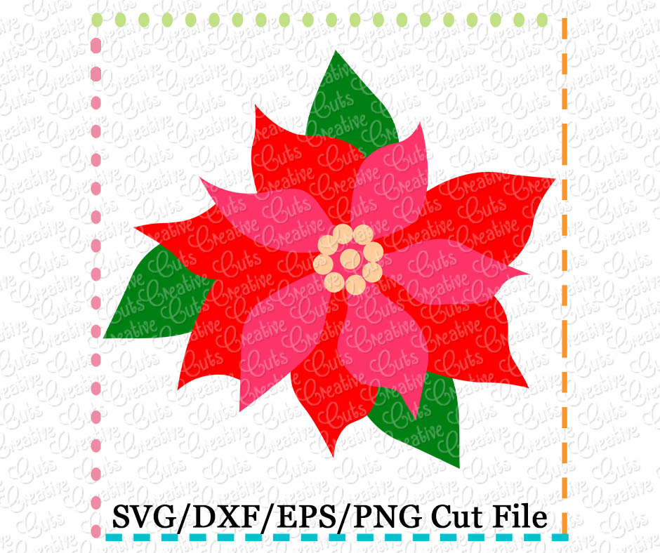 Poinsettia svg #6, Download drawings